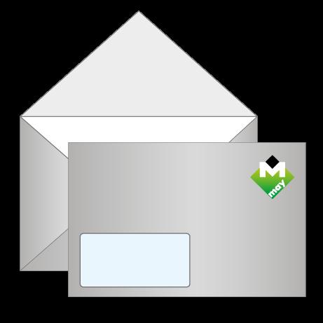 Briefumschläge mit Fenster